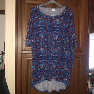 Lularoe Irma Woman's Shirt Medium
